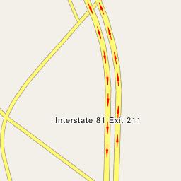 Interstate 81 Exit 211
