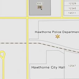 hawthorne police department hawthorne california police station