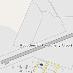 Pondicherry Airport Runway  (IATA Code: PNY, ICAO Code: VOPC