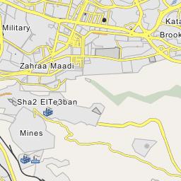 New Cairo Map, Map of New Cairo city