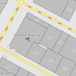 NYC DoT Traffic Camera 180 : 8 Ave at 34 St - New York City