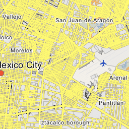 Benito Juarez Borough Greater Mexico City